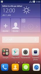 Huawei Ascend Y625 - Paramètres - Reçus par SMS - Étape 3