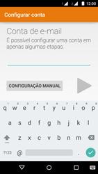 Motorola Moto G (2ª Geração) - Email - Como configurar seu celular para receber e enviar e-mails - Etapa 6
