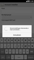 Huawei Ascend G6 - E-mail - Account instellen (IMAP zonder SMTP-verificatie) - Stap 11
