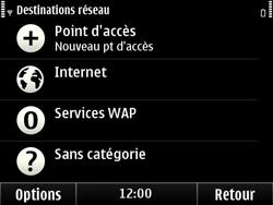 Nokia E6-00 - Internet - configuration manuelle - Étape 8