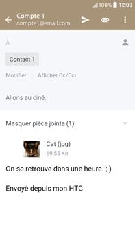 HTC HTC Desire 825 - E-mail - envoyer un e-mail - Étape 15