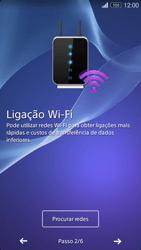 Sony Xperia M2 - Primeiros passos - Como ligar o telemóvel pela primeira vez -  6