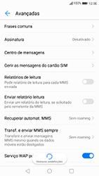 Huawei P10 Lite - SMS - Como configurar o centro de mensagens -  9