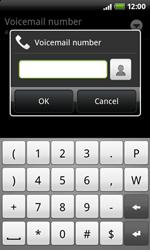 HTC A7272 Desire Z - Voicemail - Manual configuration - Step 7