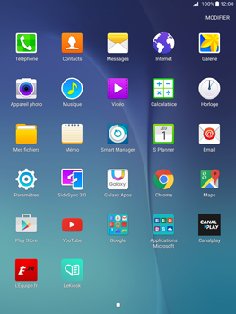 Samsung Galaxy Tab A 9.7 - WiFi et Bluetooth - Configuration manuelle - Étape 3