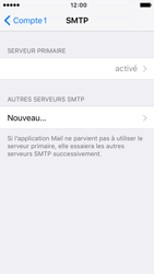 Apple iPhone 5 iOS 9 - E-mail - Configuration manuelle - Étape 16