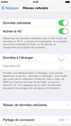 Apple iPhone 6 iOS 8 - Internet et connexion - Activer la 4G - Étape 5