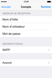 Apple iPhone 4 S iOS 7 - E-mail - Configuration manuelle - Étape 18
