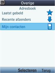 Nokia C2-05 - E-mail - E-mail versturen - Stap 7