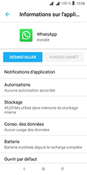 Alcatel 1 - Applications - Supprimer une application - Étape 7