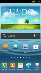 Samsung Galaxy S III - Mensagens - Como configurar seu celular para mensagens multimídia (MMS) - Etapa 1