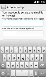Huawei Ascend Y330 - Email - Manual configuration POP3 with SMTP verification - Step 20