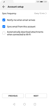 Huawei Mate 20 Pro - Email - Manual configuration IMAP without SMTP verification - Step 16