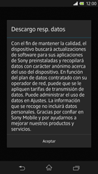 Sony Xperia Z - Primeros pasos - Activar el equipo - Paso 43