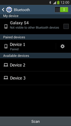 Samsung I9505 Galaxy S IV LTE - WiFi and Bluetooth - Setup Bluetooth Pairing - Step 8