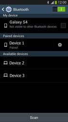 Samsung I9505 Galaxy S IV LTE - WiFi and Bluetooth - Setup Blue Tooth Pairing - Step 8
