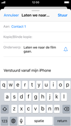 Apple iPhone SE - iOS 11 - E-mail - E-mails verzenden - Stap 7