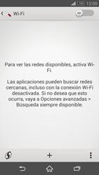 Sony Xperia Z3 - WiFi - Conectarse a una red WiFi - Paso 5