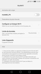 Huawei P9 - Internet et connexion - Partager votre connexion en Wi-Fi - Étape 7