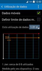 Samsung Galaxy Trend 2 Lite - Internet no telemóvel - Como ativar os dados móveis -  6