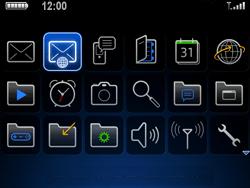 BlackBerry 9700 Bold - E-mail - E-mails verzenden - Stap 3