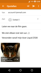 Acer Liquid Z530 - E-mail - Bericht met attachment versturen - Stap 15