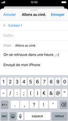 Apple iPhone 5s - iOS 11 - E-mails - Envoyer un e-mail - Étape 8