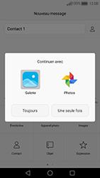 Huawei Nova - Contact, Appels, SMS/MMS - Envoyer un MMS - Étape 14