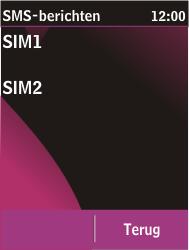 Nokia C2-03 - SMS - Handmatig instellen - Stap 6
