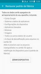 Samsung Galaxy J5 - Funções básicas - Como restaurar as configurações originais do seu aparelho - Etapa 6
