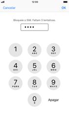 Apple iPhone 6s - iOS 12 - Segurança - Como ativar o código PIN do cartão de telemóvel -  7
