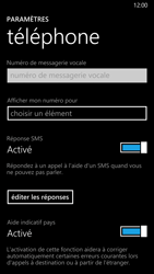Nokia Lumia 930 - Messagerie vocale - Configuration manuelle - Étape 6