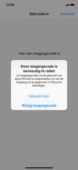 Apple iPhone XS - Beveiliging - stel in of wijzig pincode voor je toestel - Stap 6