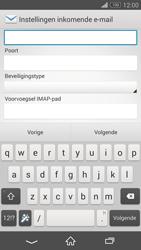 Sony D5803 Xperia Z3 Compact - E-mail - Account instellen (IMAP zonder SMTP-verificatie) - Stap 9