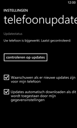 Nokia Lumia 925 - Software updaten - Update installeren - Stap 7