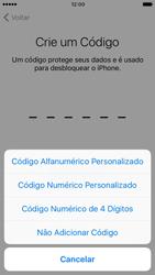 Apple iPhone 7 - iOS 10 - Primeiros passos - Como ativar seu aparelho - Etapa 14