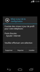 Motorola Moto G - Internet - configuration automatique - Étape 6