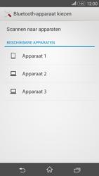 Sony E2003 Xperia E4G - Contactgegevens overzetten - delen via Bluetooth - Stap 11
