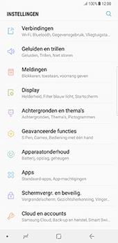 Samsung Galaxy Note 8 - Netwerk - Wijzig netwerkmodus - Stap 4