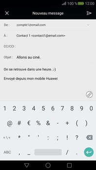 Huawei Mate S - E-mail - envoyer un e-mail - Étape 10