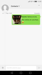 Huawei P9 Lite - Mensajería - Escribir y enviar un mensaje multimedia - Paso 20