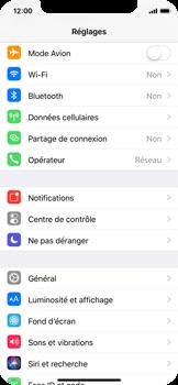 Apple iPhone X - Internet et connexion - Activer la 4G - Étape 3