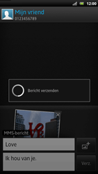 Sony LT22i Xperia P - MMS - Afbeeldingen verzenden - Stap 15