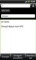 HTC A7272 Desire Z - E-mail - envoyer un e-mail - Étape 6