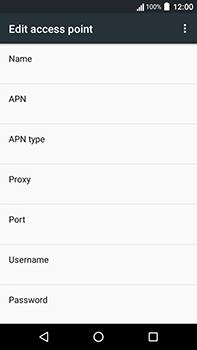 Acer Liquid Zest 4G Plus - Internet - Manual configuration - Step 11