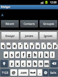 Samsung S5360 Galaxy Y - E-mail - envoyer un e-mail - Étape 4