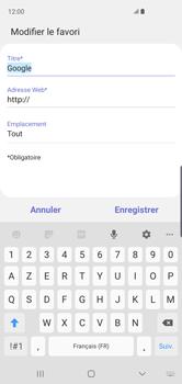 Samsung Galaxy S10 - Internet - navigation sur Internet - Étape 10