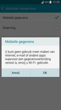 Samsung N910F Galaxy Note 4 - Internet - aan- of uitzetten - Stap 7