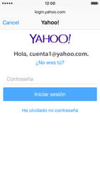 Apple iPhone SE - E-mail - Configurar Yahoo! - Paso 7