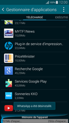 Samsung Galaxy Alpha - Applications - Supprimer une application - Étape 8